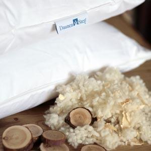 Cuscino lana e cirmolo Daunenstep