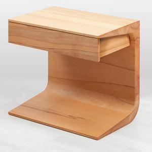 comodino legno Mariella