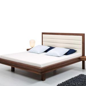 letto legno e pelle Julia Comfort