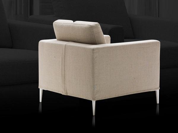Poltrona milano bedding grace la casa econaturale for Poltrone design outlet online
