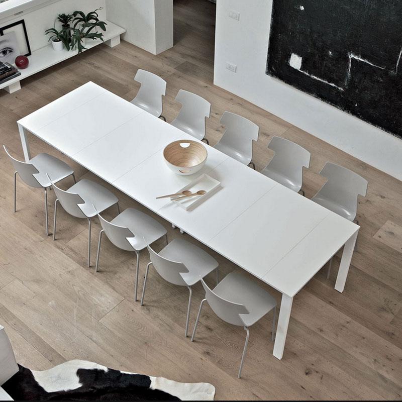 Tavolo consolle vega plus la casa econaturale - Consolle che diventa tavolo ...