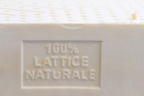 Materasso Bio Lattice 100 Naturale Singolo 16 Medio La Casa Econaturale