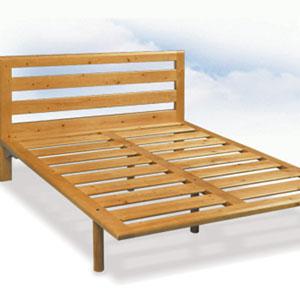 Testata letto legno massello Capalbio - La Casa Econaturale