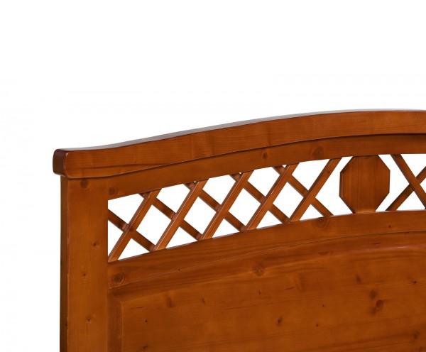 Testate Letto In Legno Negozio : Testata letto legno massello decor la casa econaturale