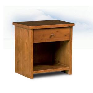 Comodino legno massello Basic
