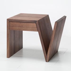 Comodino legno massello Laura Fantasy