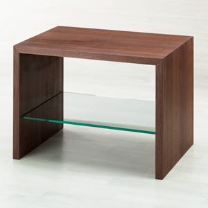 Comodino legno massello Laura Twist