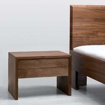 Comodino legno massello Laura Twist - La Casa Econaturale