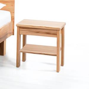 Comodino legno massello Sara line
