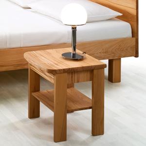 Comodino legno massello Sara soft