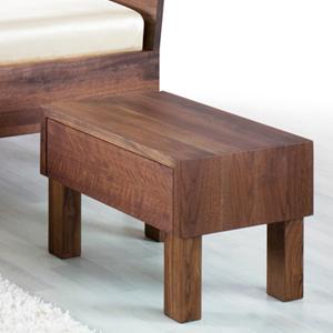 Comodino legno massello Vera