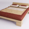 Letto in legno Feng
