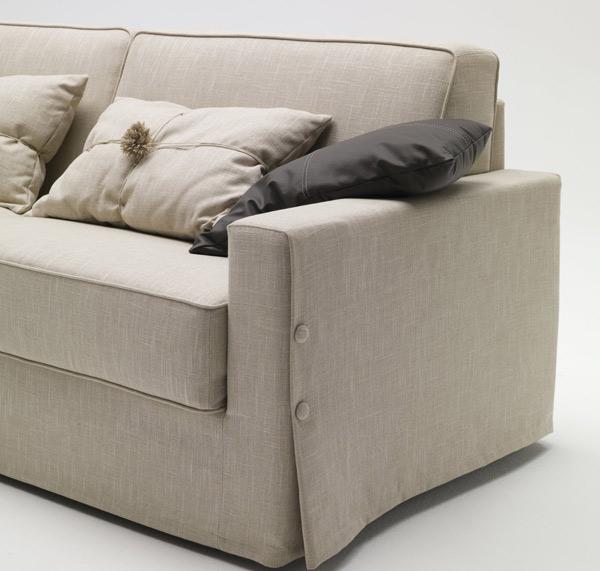 Divano letto milano bedding taylor la casa econaturale - Casa del divano letto ...