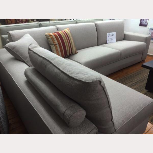Divano letto materasso 18 cm Corner Plus