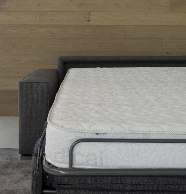 Divano letto materasso alto 18 cm Corner - La Casa Econaturale