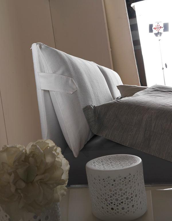 Letto contenitore matrimoniale Pillow - La Casa Econaturale
