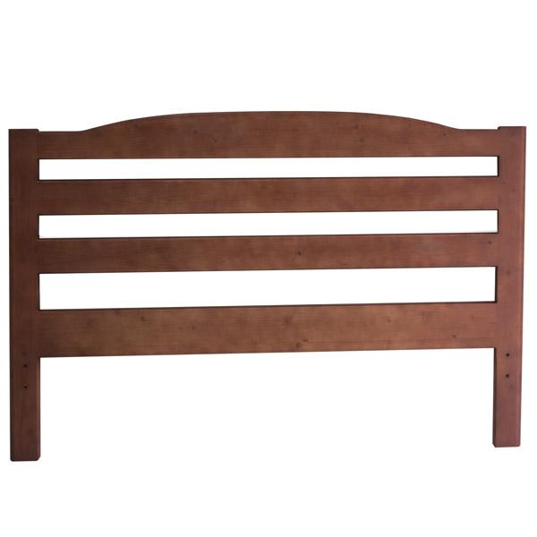 Testata letto legno massello Capalbio arrotondata - La Casa Econaturale