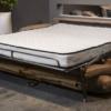 Divano letto materasso alto 18 cm Stone aperto