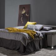 Divano letto materasso alto 18 cm York