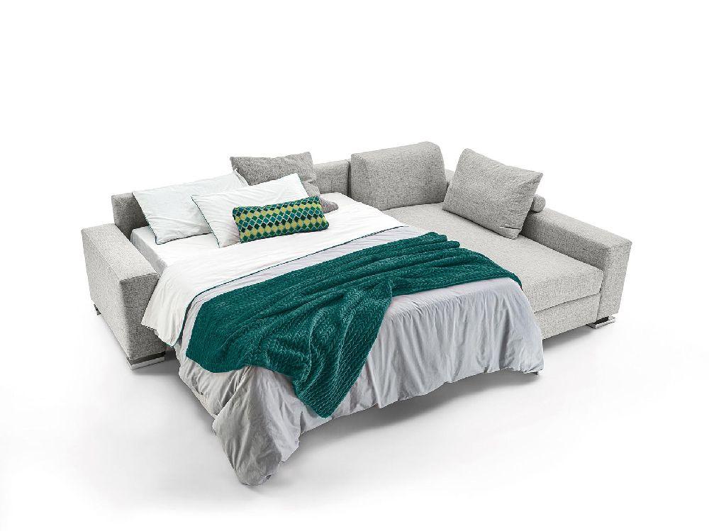 Divano letto angolare materasso alto 18 cm Prestige plus